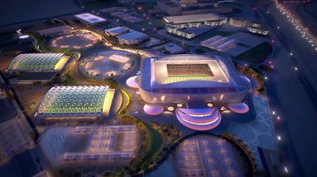 ملعب أحمد بن على فى قطر