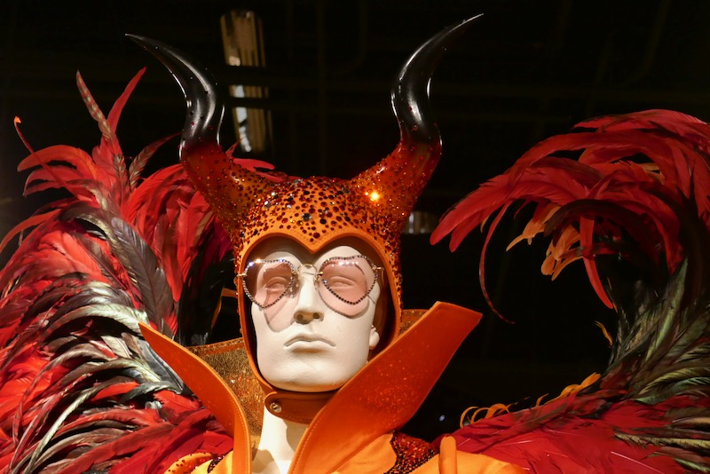 Elton John Rocketman Winged Devil costume horns