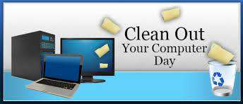 National Clean Out Your Computer Day Wishes Pics