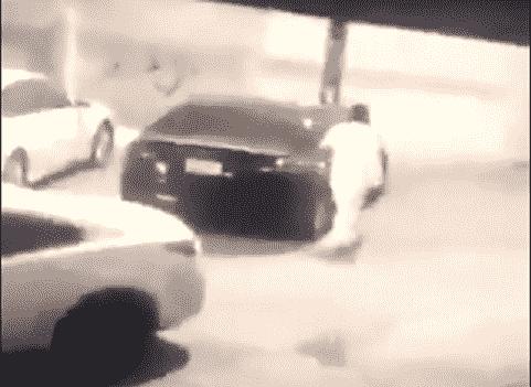 SAUDI MAN BURNS SISTER CAR IN A VIRAL VIDEO