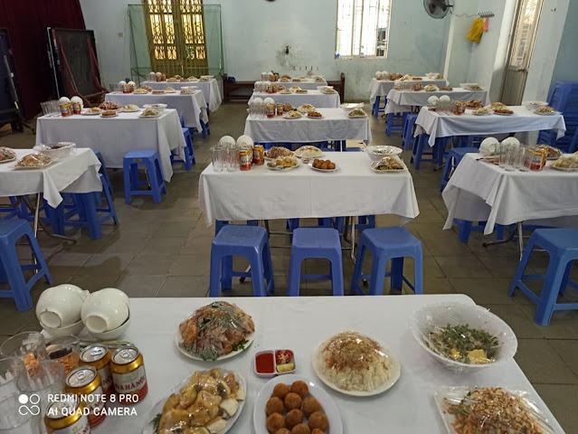 Nhận nấu cỗ tại nhà ở Xã Đà- Đống Đa