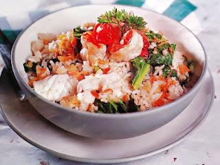 Gambar Resep Nasi Goreng Seafood