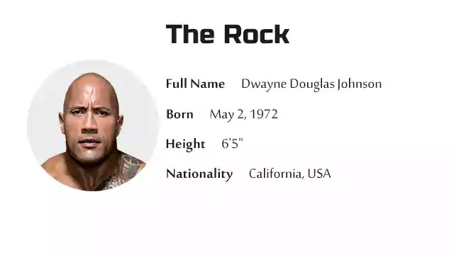The Rock Biography History Net Worth And More