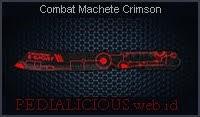 Combat Machete Crimson