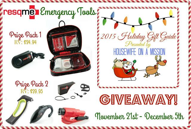Giveaway: Resqme Emergency Tools