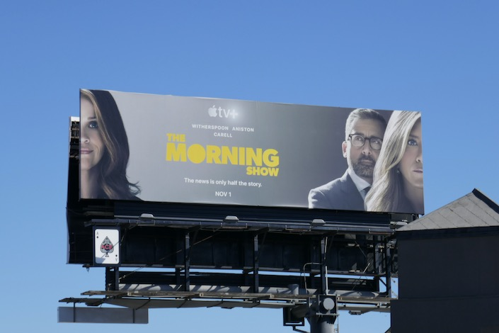 Morning Show Apple TV+ series launch billboard