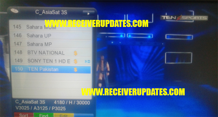 GX6605S HD RECEIVER HW203 00 023 TEN SPORTS OK LATEST