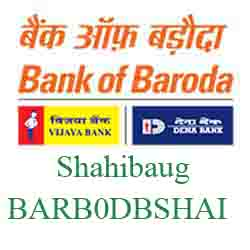 New IFSC Code Dena Bank of Baroda Shahibaug