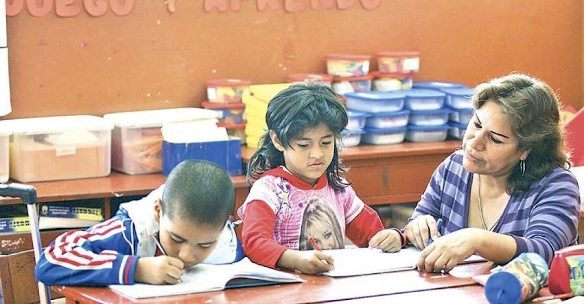 99.7% de docentes aprueban Evaluación de Desempeño en Educación Inicial