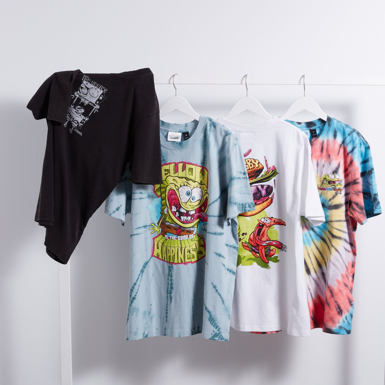 Nickelodeon Australia and Factorie Collaborate on New SpongeBob Tee Line
