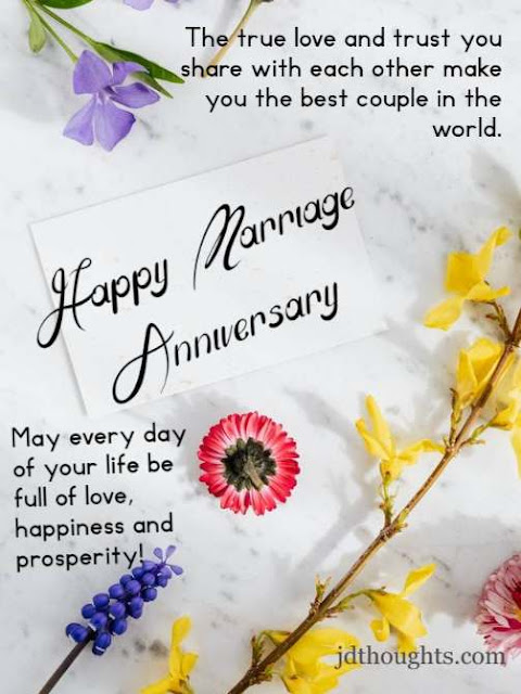 Happy wedding anniversary to you both