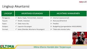 Inti Perbedaan Akuntansi Keuangan & Akuntansi Manajemen