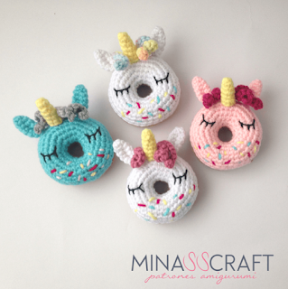 unicorn donut crochet patterns