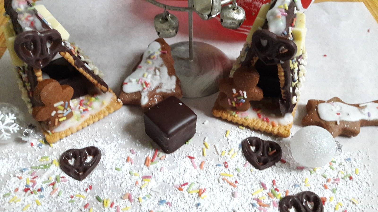 ein knusperh uschen aus zuckerguss und schokolade. Black Bedroom Furniture Sets. Home Design Ideas