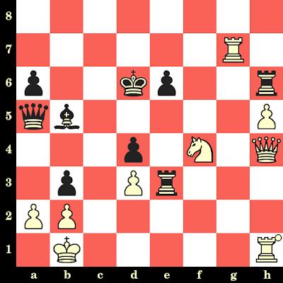 Les Blancs jouent et matent en 4 coups - Mikhail Tal vs Ricardo Calvo Minguez, Malaga, 1981
