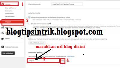Cara membuat backlink youtube dengan menautkan blog