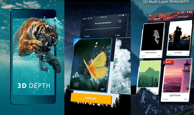 Wallpaper 3D app for the best mobile wallpapers