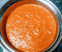 Tomato onion cashew puree for paneer tikka masala recipe