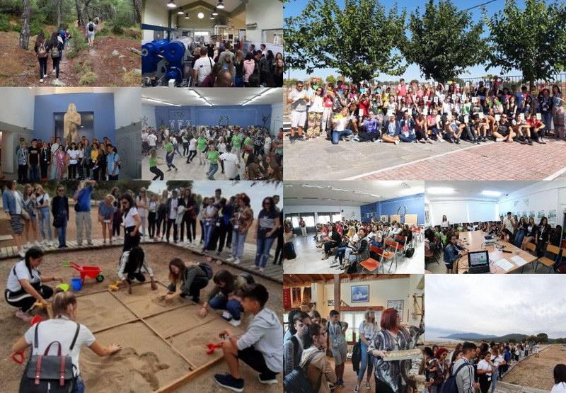 Το Λύκειο Τυχερού φιλοξένησε εκπαιδευτικούς και μαθητές από 5 χώρες