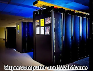 Supercomputer and mainframe