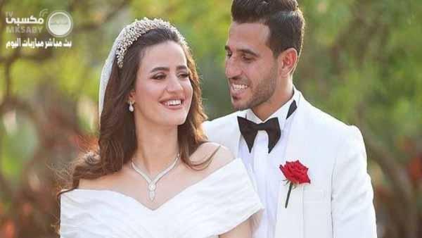 حمدي فتحي وزوجته