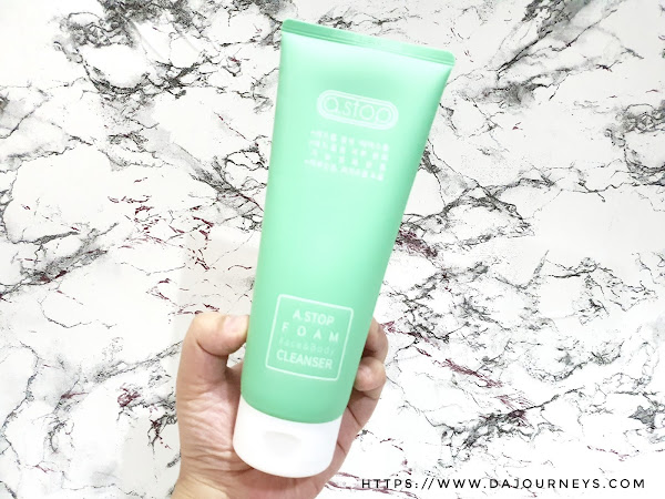Review A.Stop Foam Face & Body Cleanser