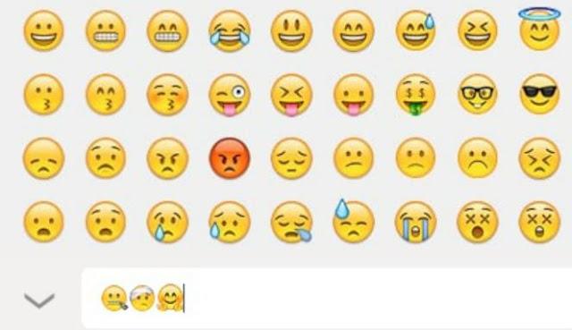 Emoji baru di WhatsApp