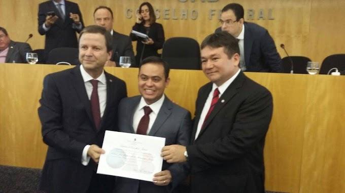 Advogado Catulé Jr. toma posse como conselheiro federal da OAB em Brasília