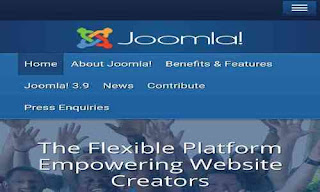 Blogging gratis joomla