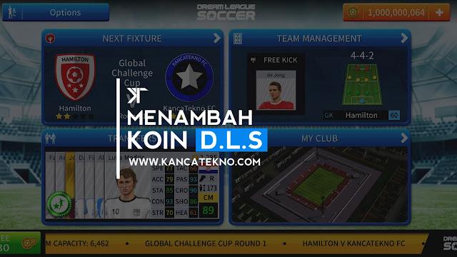 Cara Mudah Menambah Koin DLS (Dream League Soccer) 2019 Tanpa Cheat