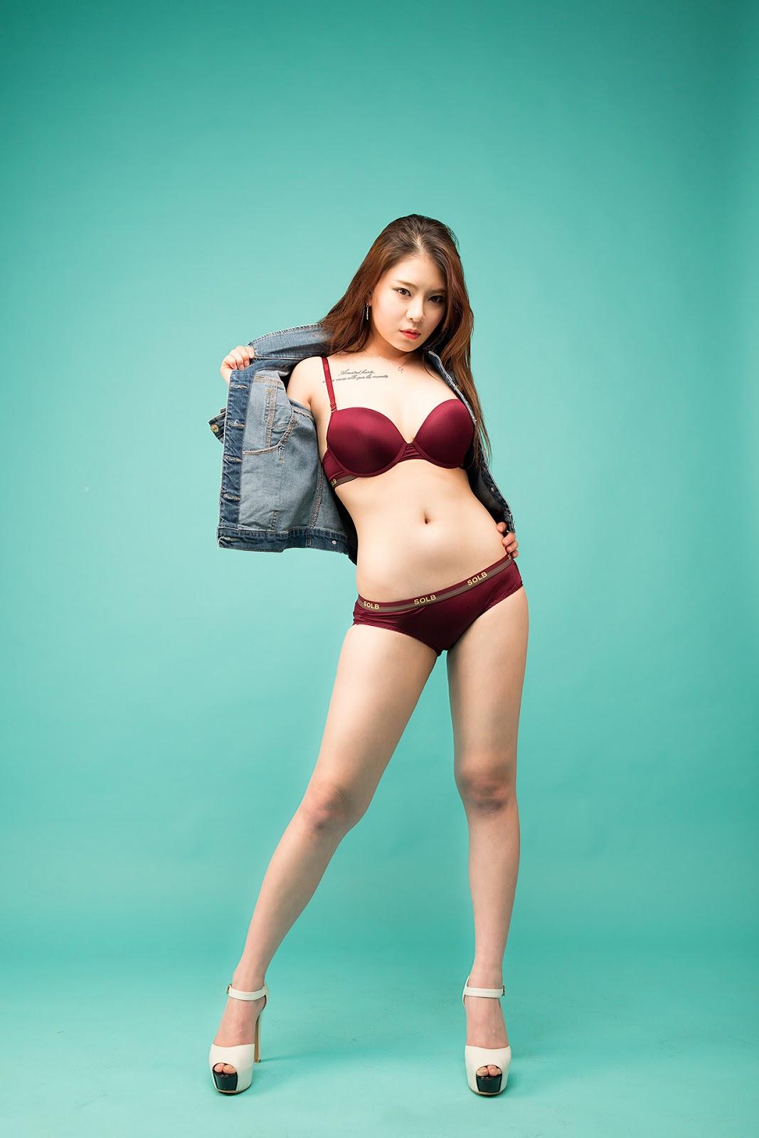 Korean Model Jung Mi 정미 (97 Pict)