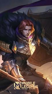 Tigreal Warrior of Dawn Rework Heroes Tank of Skins