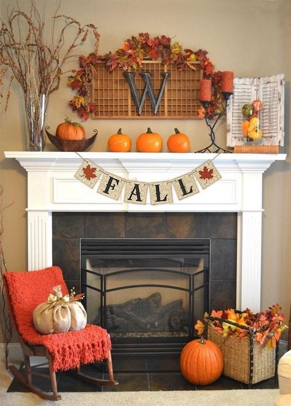 Decorar la casa en otoño
