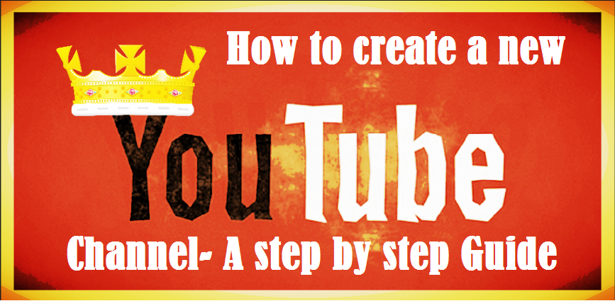 How to create new youtube channel