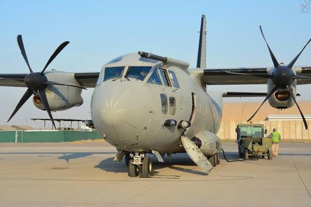 Italian Air Force EC27J JEDI