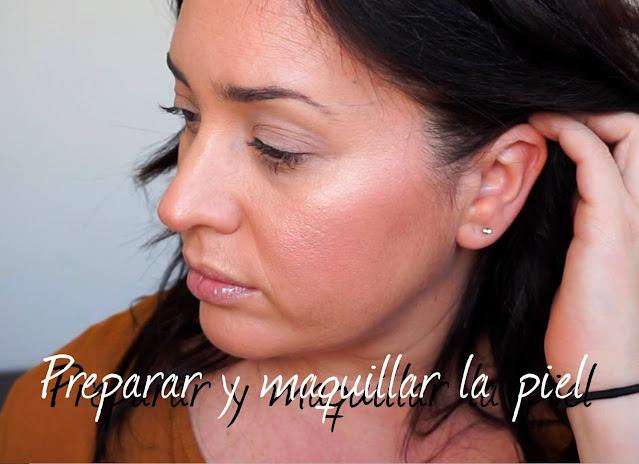 Maquillar la piel