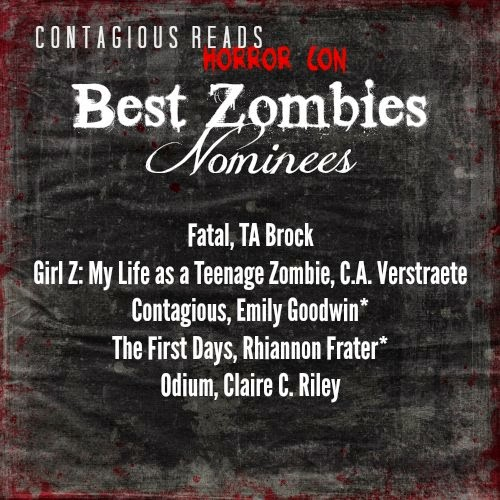 contagious reads horror con best zombie nominee