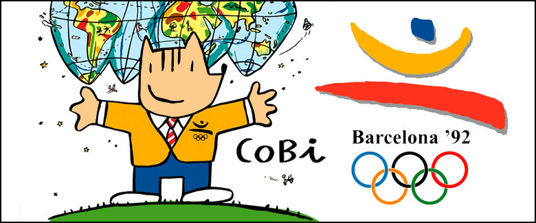 Cobi, la mascota de los Juegos Olímpicos de Barcelona (1992)