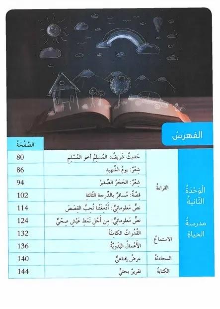 كتاب العربى للصف الثامن الامارات الفصل الدراسى الأول 2020-2021