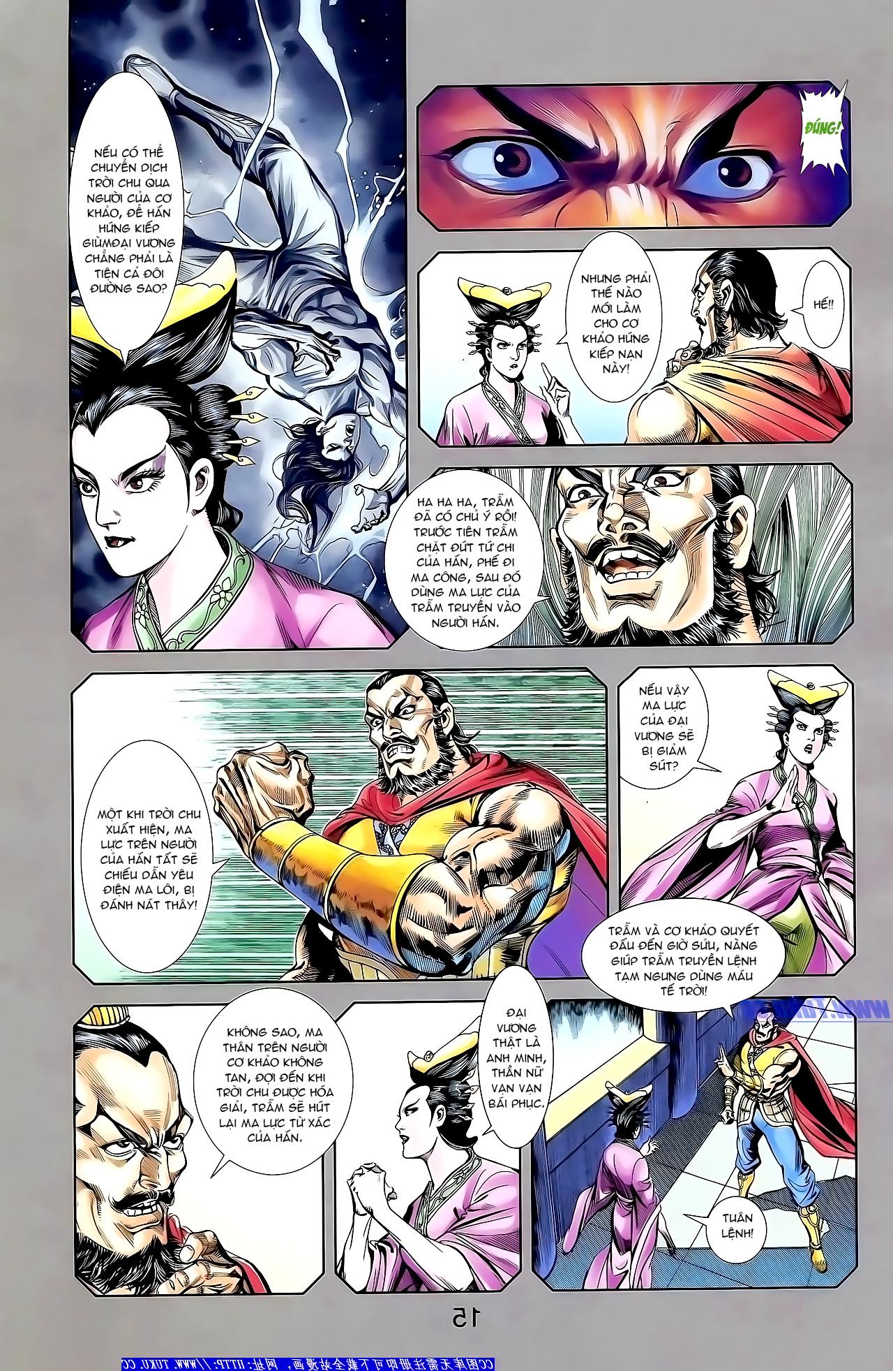 Cơ Phát Khai Chu Bản chapter 149 trang 15