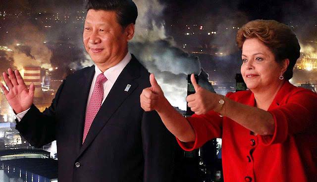 No Acordo de Paris, Dilma enforcou o Brasil e Xi foi aclamado quando prometeu que só faria o interesse chinês