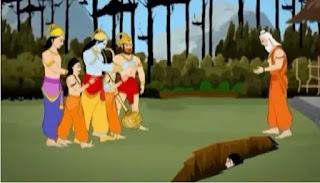 Sita ka samadhi, Sita Ki Antim Vidai, sita ramayan, ram,ramayan kahani,RAMAYAN, sita, sita samadhi ramayan,mythology kahani,Sita Samadhi Katha Ramayan