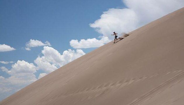 The luxury hotel in the desert of Mongolia