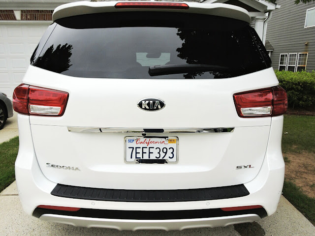 2015 Kia Sedona SX-L Review  via  www.productreviewmom.com