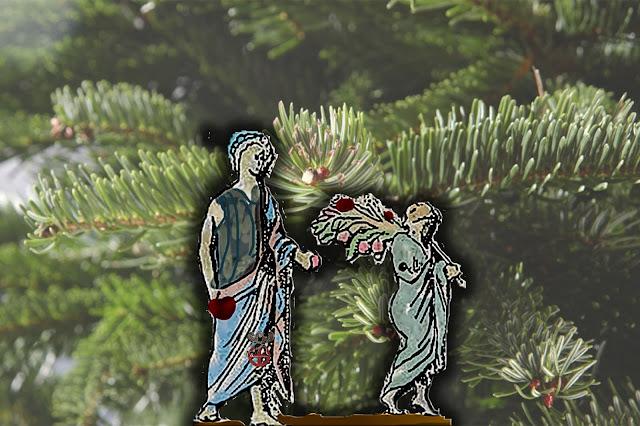 """Ειρεσιώνη: Το... """"Χριστουγεννιάτικο"""" δέντρο που στόλιζαν οι αρχαίοι Έλληνες - Αρχαία κάλαντα"""