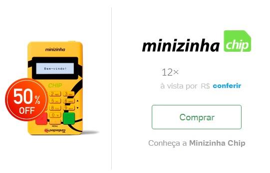 preço da minizinha chip