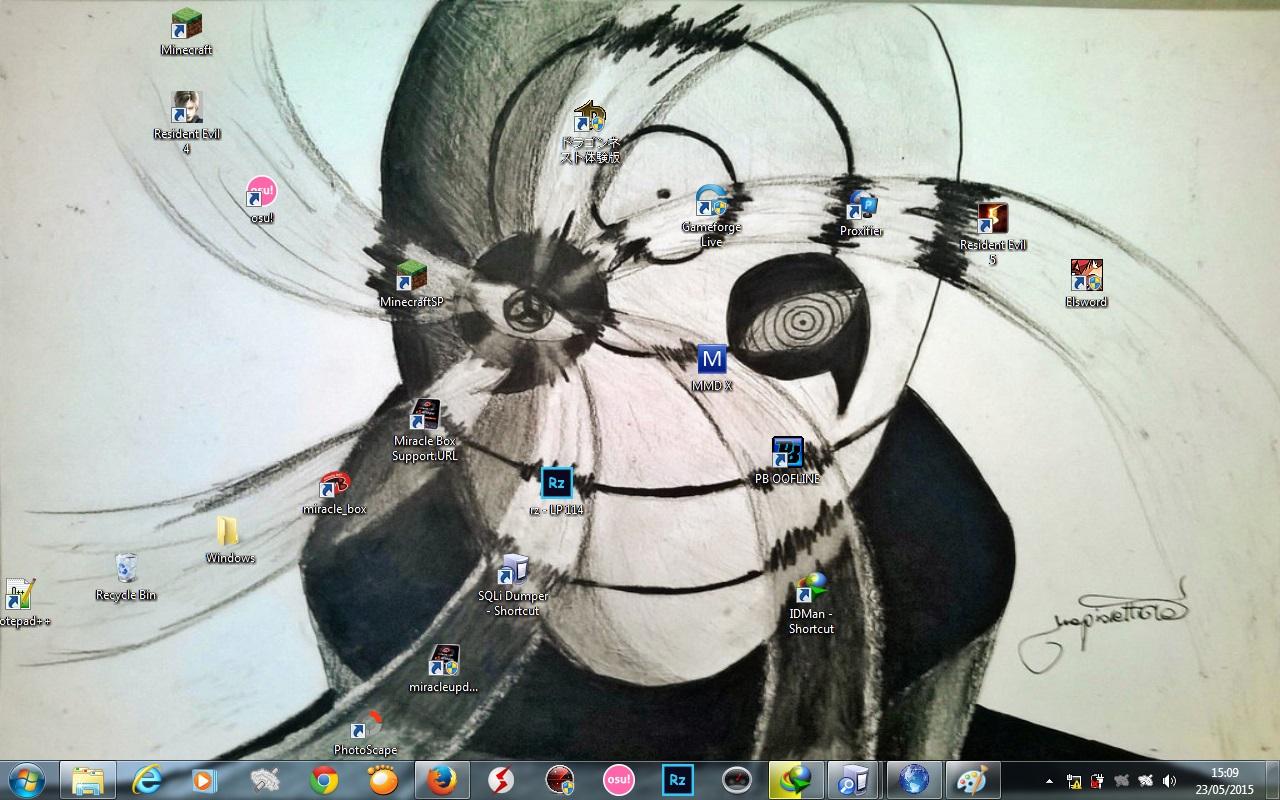 Walpaper Obito Keren Untuk Laptop