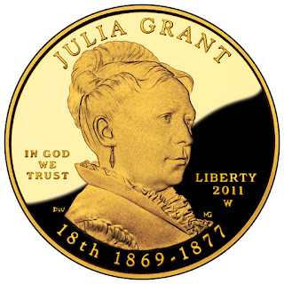 US Gold Coins Julia Grant 10 Dollars First Spouse Gold Coin