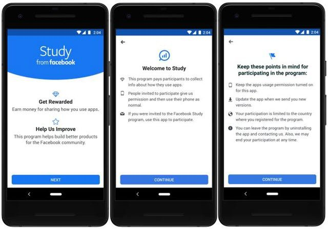 تعرف على تطبيق فيسبوك الجديد الذي يدفع لك راتب شهري 20 دولار مقابل تثبيته في هاتفك فقط !