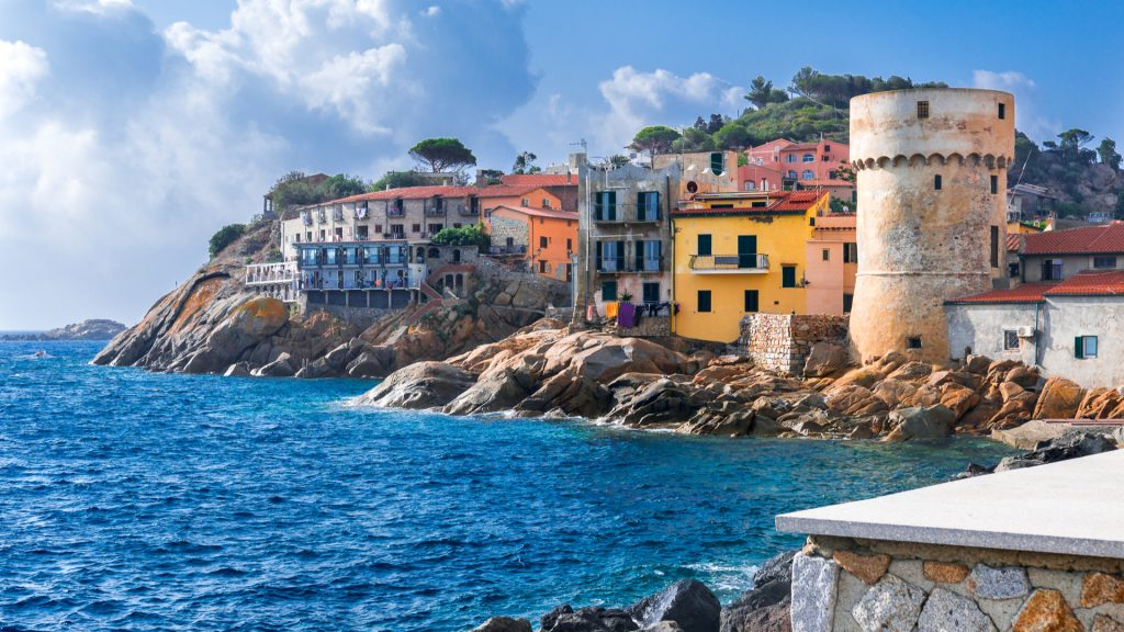 Isola del Giglio in Toscana